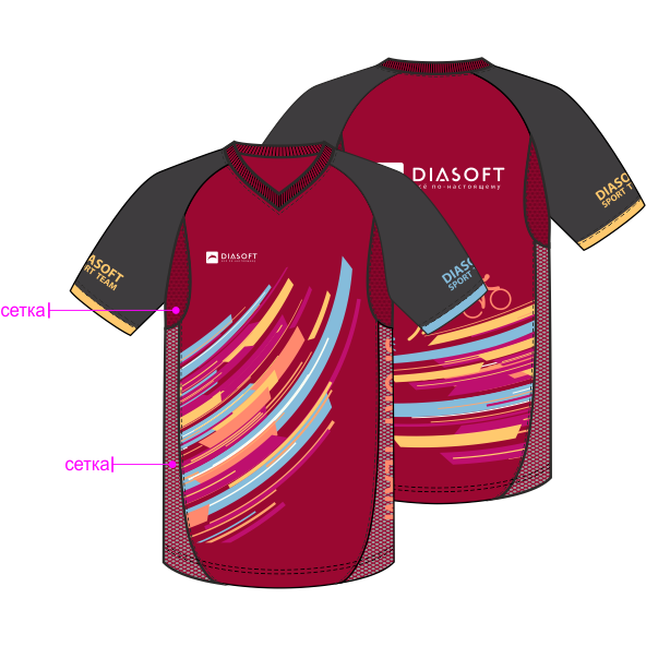 Производство футболок для бега