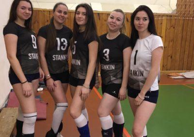 Волейбольная форма для МГТУ Станкин