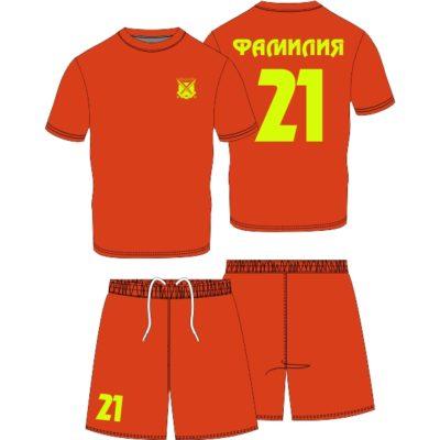 футбольная форма на заказ с номером, фамилией и логотипом