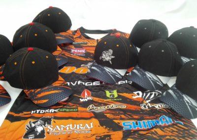 Бейсболки на заказ для рыболовного спорта