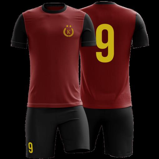 Футбольная форма с номером и логотипом