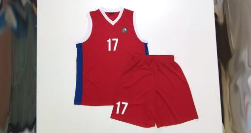 Баскетбольная форма с нанесением логотипа