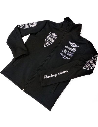 Куртка с воротником стойка для гоночной команды