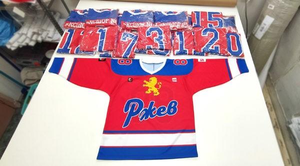 Хоккейные свитера на заказ