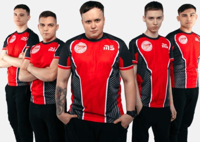 Игровые футболки для M5 Academy