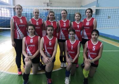 Волейбольная форма для команды из Мурманска