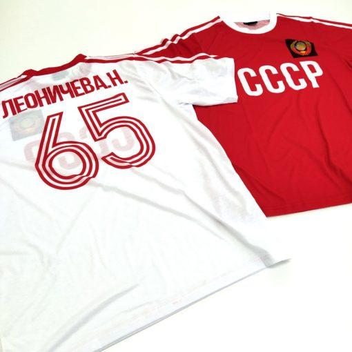 Футболки сборной СССр