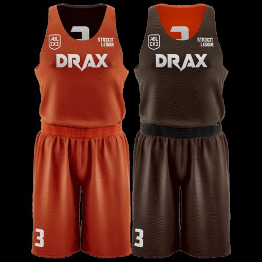 Двухсторонняя баскетбольная форма