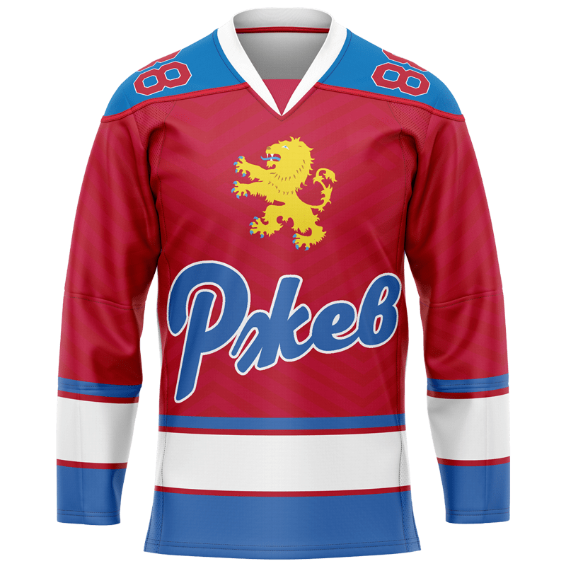 хоккейный свитер на заказ