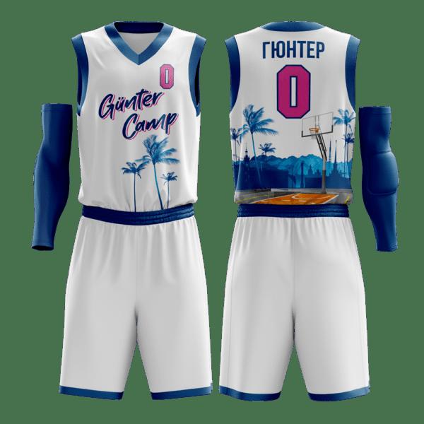 Баскетбольная форма Gunter Camp