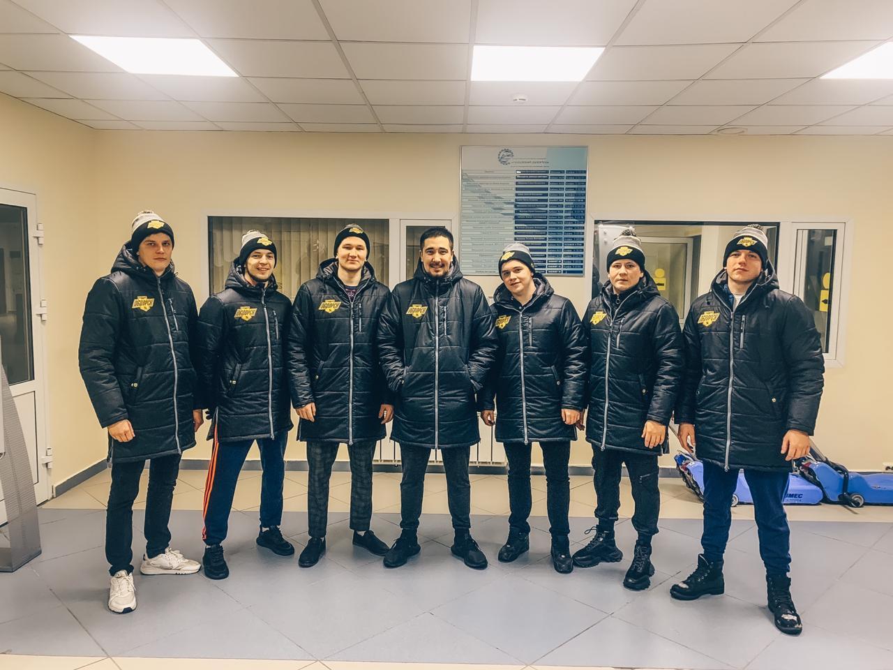 Зимние куртки ХК Обдорск